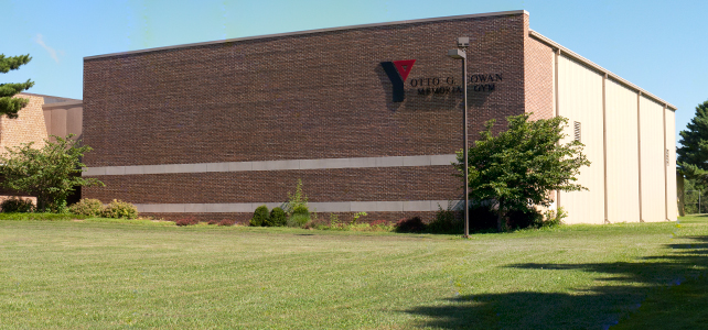 Canton Family YMCA Cowan Gym Exterior
